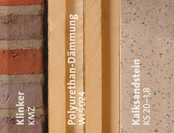 Passivhaus wandaufbau mauerwerk  Zweischalig schlank: Passivhäuser mit Klinkerfassade