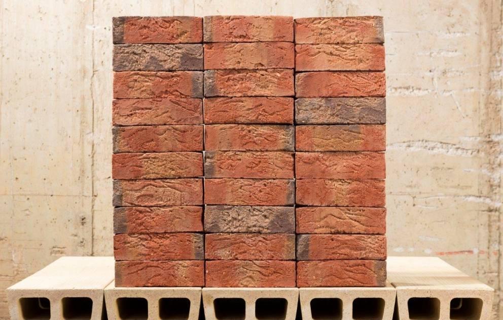 Verblender Kaminverkleidung Steinriemchen Castle Wall Champagne