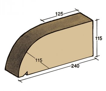 F-03, window sill capping tile