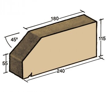F-05, window sill capping tile