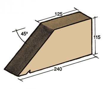 F-06, window sill capping tile