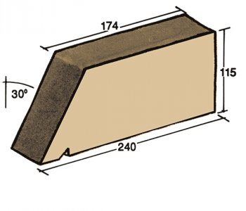 F-22, window sill capping tile