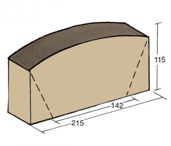 F-68, column sheathing brick